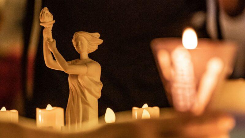 「六四」燭光遍地開花 為中國也為香港