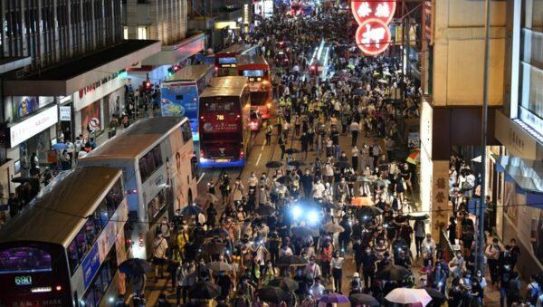 【重播】6.9香港人抗争一周年 港岛区大游行