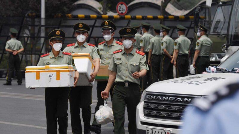 北京疫情嚴重 當局新詞維穩:46人「咽試子陽性」