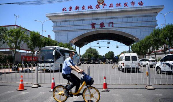 北京民眾爆恐慌 超市搶購一空 蔬菜短缺(視頻)