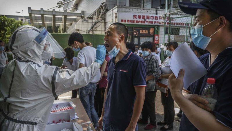 北京疫情擴散:三大市場實施全員檢測