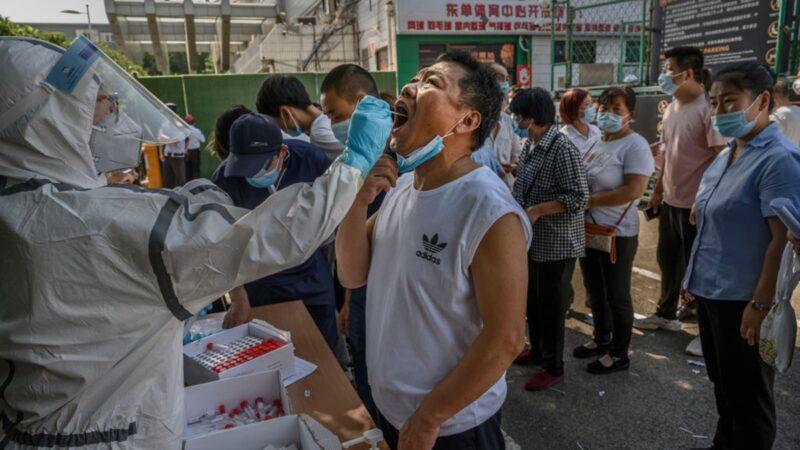 【役情最前线】北京突变瘟疫之城 民众连夜出逃
