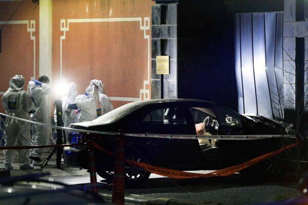 中共大使馆遭驾车冲撞 阿根廷警方戒备