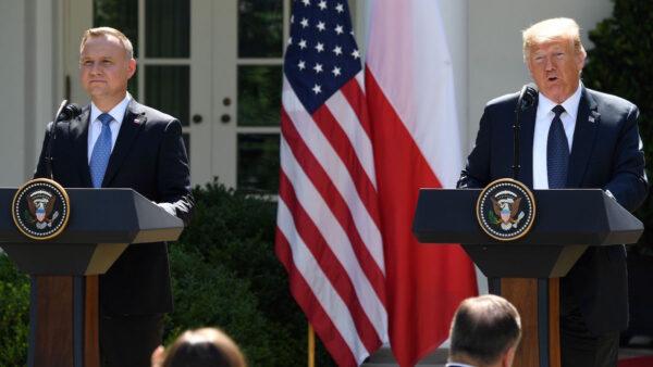 【重播】川普与波兰总统联合新闻发布会(同声翻译)