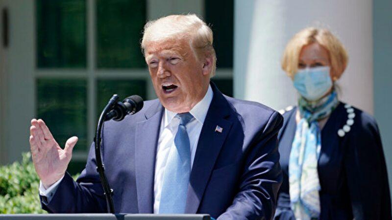 川普:中共可能故意擴散疫情 打擊全球經濟
