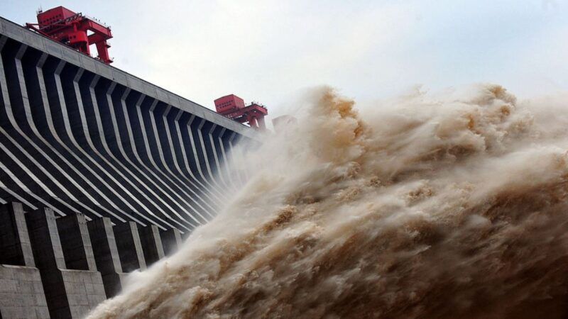 《石濤聚焦》中共承認三峽大壩洩洪 警告上海會被淹掉