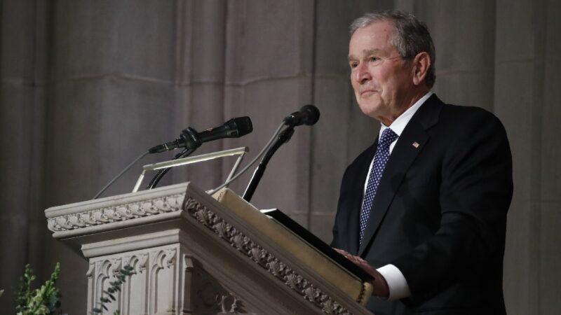 《纽时》称小布什选票不投川普 前发言人:捏造