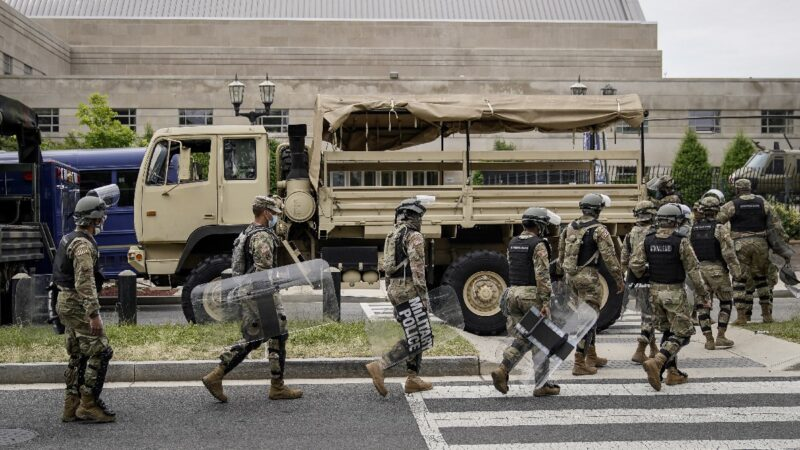 28州調用國民警衞隊 川普敦促迅速行動