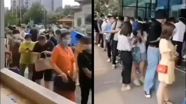 网传出入新发地35万人被锁定 北京医院大排长龙
