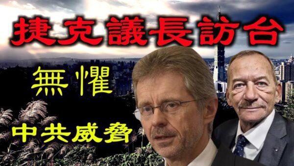 """【德传媒 】捷克议长访台并加入反共联盟,选择台湾与正义同行,新""""冷战""""已打响?"""