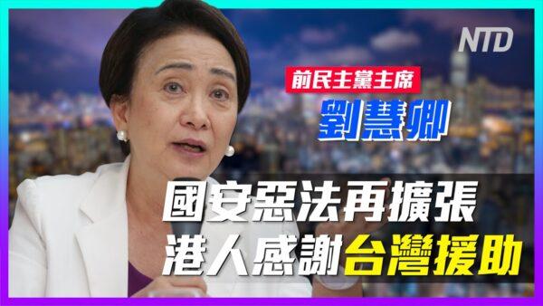 """【老外看中国】黑夜来临!香港""""铁娘子""""刘慧卿谈国安法"""
