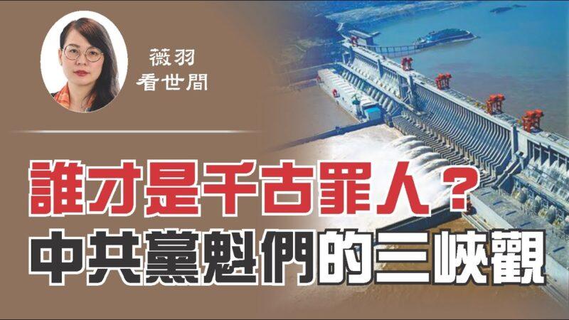 【薇羽看世間】重慶大洪水,三峽大壩撐得住嗎?三峽大壩議案是如何通過的?中共黨魁們的三峽觀