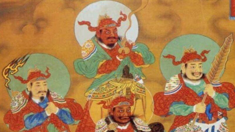 5位瘟神有名有姓 奉天命人间布疫