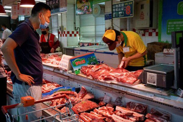 大陆猪肉价格连涨六周 洪水令猪价雪上加霜