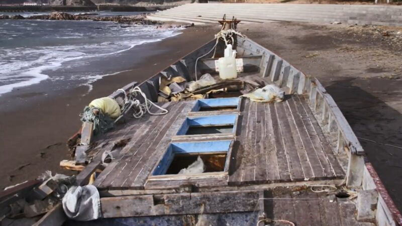 调查:中国渔船滥捕 朝鲜幽灵船飘日本