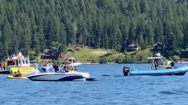 2小飞机空中相撞坠湖 爱达荷州热门景点至少8人罹难