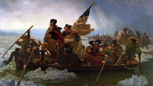 华盛顿将军系列故事:渡河,渡河