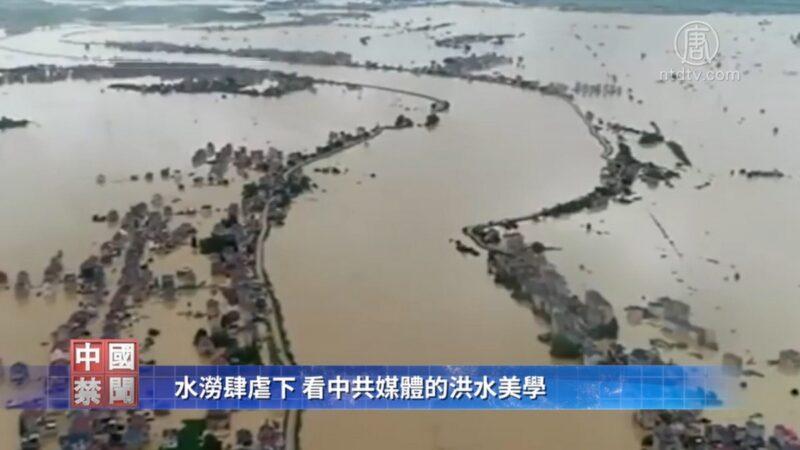 入魔了?黨媒:洪水大是網絡錯覺 不救災因水利工程好