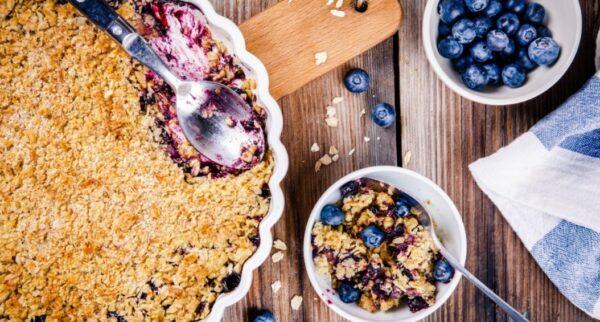 蓝莓酥 完美诱人的味道(组图)