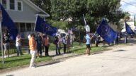 休斯顿中领馆被驱离 抗议者见证历史时刻