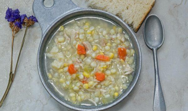 阿米希雞肉玉米湯(組圖)