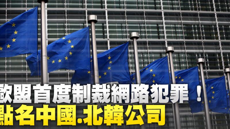 歐盟首度制裁網路犯罪!點名中國.北韓公司