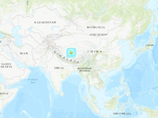 西藏西部發生6.2地震 深度僅5公里