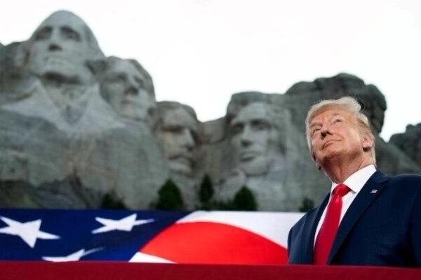 川普獨立日「總統山」演講 獲共和黨人讚揚