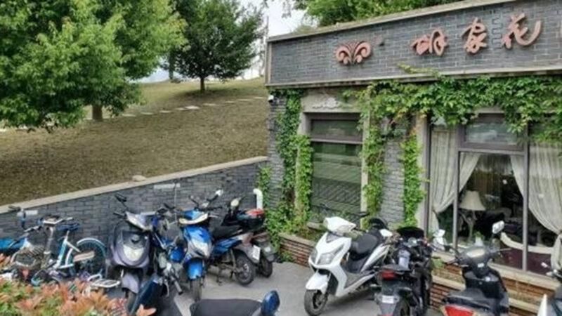 长江下游防洪坝已严重渗水 肚子里却开餐厅