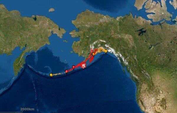阿拉斯加外海7.8淺層強震 已發海嘯警報