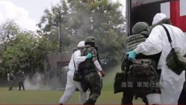 防共军阴招?台汉光军演新增生物战防疫项目(视频)