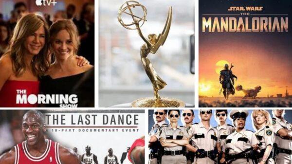 艾美獎入圍名單Apple TV亮眼 Netflix160項提名