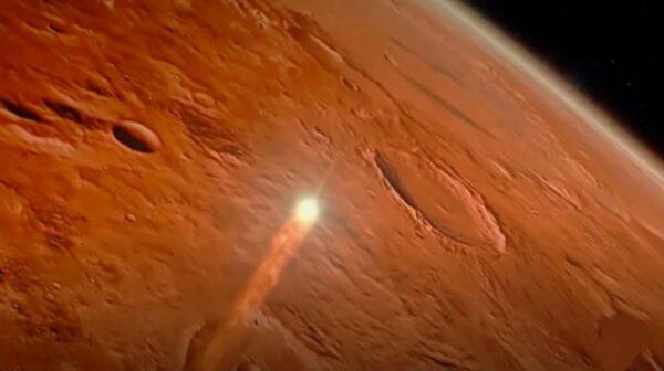 """著名UFO爱好者称:在火星上发现了外星文明的""""发动机"""""""