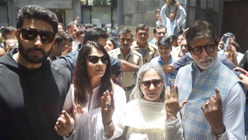 8歲孫女確診 印度寶萊塢巨星一家三代染疫