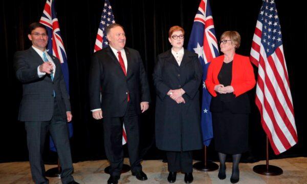美澳2+2部长会议强化围堵中共 拟扩大五眼联盟