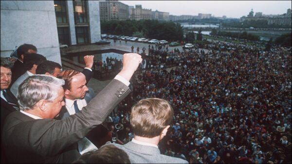 被中共封鎖20多年 蘇共垮台時講話曝光(視頻)