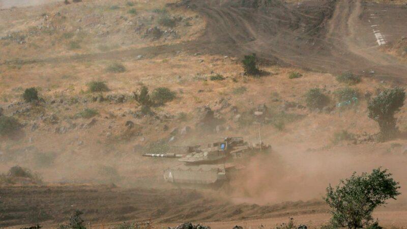 敘利亞攻擊戈蘭高地 以色列空襲軍事基地報復
