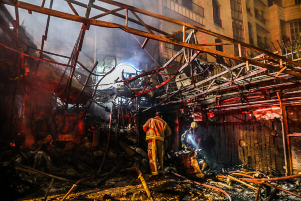 火災引大爆炸 伊朗首都診所19死6傷(視頻)