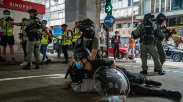 無懼國安法 上萬港人七一抗爭 警抓180人