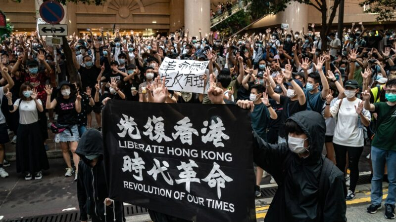 谢田:毁掉香港 凸显中共弹尽粮绝