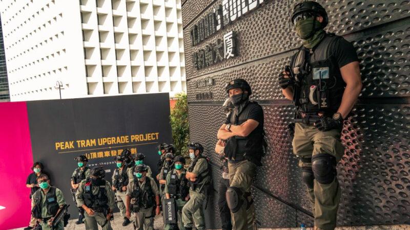 共同社:北京拟派数百武警 观察员名义常驻香港