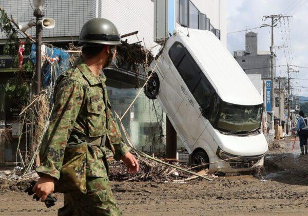 日本九州惊人雨量56死 岐阜长野河川泛滥