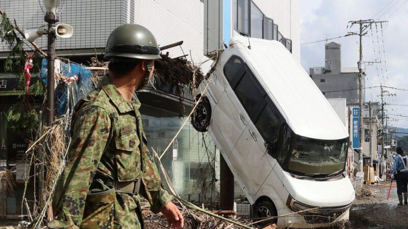 日本九州驚人雨量56死 岐阜長野河川氾濫