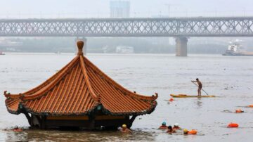 三峡泄洪 长江从洞庭湖到上海水位全超警戒线