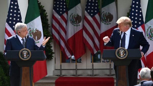 【重播】川普總統與墨西哥總統聯合新聞發佈會(同聲翻譯)