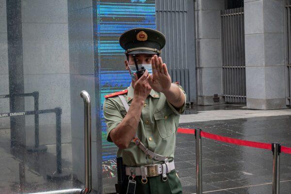 中共或任意抓「人質」 美對在華公民發佈安全警告