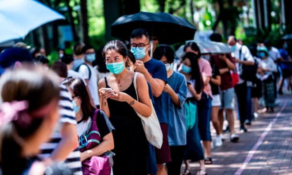 《石濤聚焦》香港人太偉大!逾60萬參加民主派參選投票 向國安法說不!