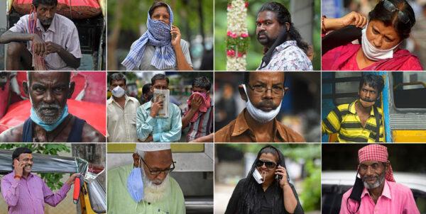 印度僅3天增10萬例 不戴口罩民眾遭開罰單