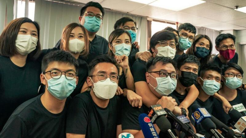 黃之鋒參選立法會 親共派放風選舉「因疫延期」