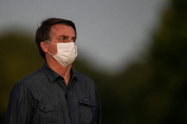 「受不了」隔離再篩檢 巴西總統仍呈陽性